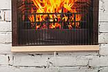 Обогреватель-картина инфракрасный настенный ТРИО 400W 100 х 57 см, камин 3D, фото 4