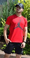 Мужская футболка Jordan красная