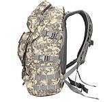 Рюкзак тактический B35 50 л, черный, фото 2