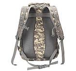 Рюкзак тактический B35 50 л, черный, фото 4