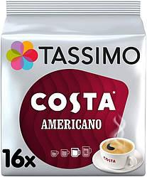 Кофе в капсулах Тассимо - Tassimo COSTA  AMERICANO (16 порций)
