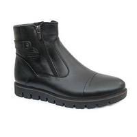Зимние ботинки мужские (чёрные)