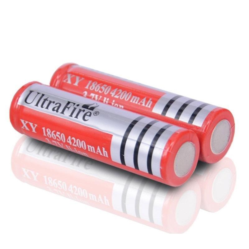 Аккумулятор батарейка UltraFire HY-18650 с емкостью 6800mAh 3.7V Li-ion защита от превышения