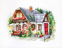 BU4005 Красивый загородный домик. Luca-S. Набор для вышивания нитками