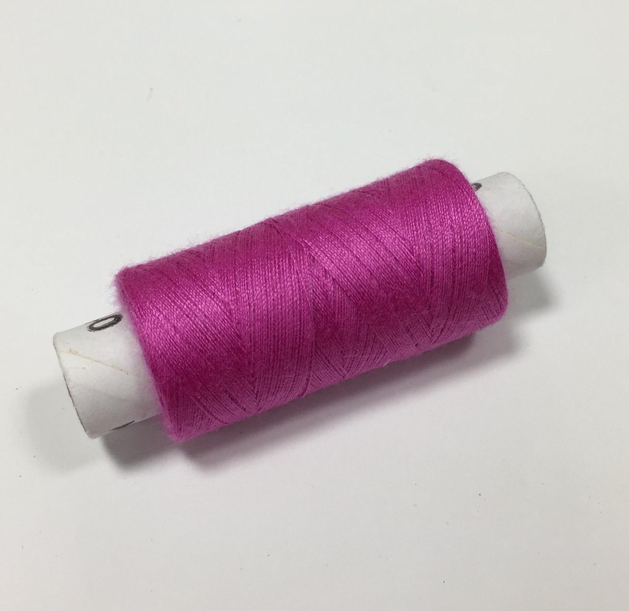 Нитки швейные 40/2 цв. 304 розовый яркий