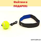 Перчатки боксерские DX на липучке TWINS MA-5435 (цвета в ассортименте), фото 2