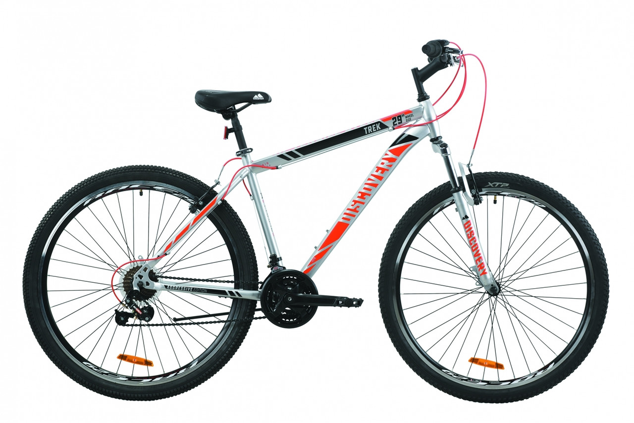 """Велосипед горный мужской 29"""" Discovery Trek AM V-BR 2020 стальная рама 19"""" 21"""""""