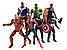 Набор фигурок 7в1 Мстители: Тор, Халк, Танос, Железный Человек, Человек-паук, Капитан Америка, Черная Пантера, фото 3