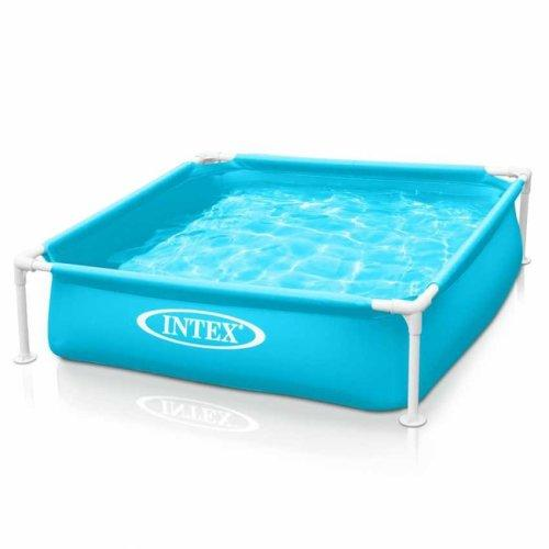 Детский прямоугольный бассейн каркасный Intex 57173 (122*122*30см)