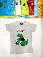 """Футболка детская для мальчика """"Roar""""1-4 года,цвет уточняйте при заказе"""