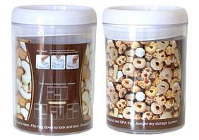 Контейнер герметичний для продуктів круглий easy lock 1,7л
