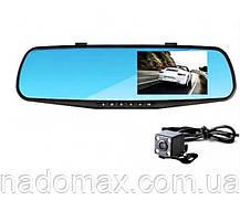 Зеркало видеорегистратор с двумя камерами Blackbox DVR, фото 2