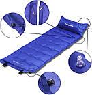 Самонадувающийся килимок KingCamp Base Camp XL(KM3559) (navy blue), фото 4