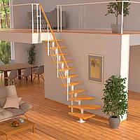 Модульная лестница DOLLE Boston Белая забежная, фото 1