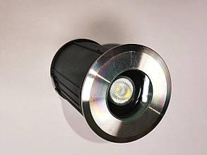 Подводный встраиваемый светильник  1*3W ip68 Ecolend