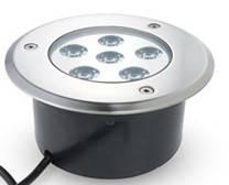 Подводный встраиваемый светильник 6*1W RGB ip68 Ecolend