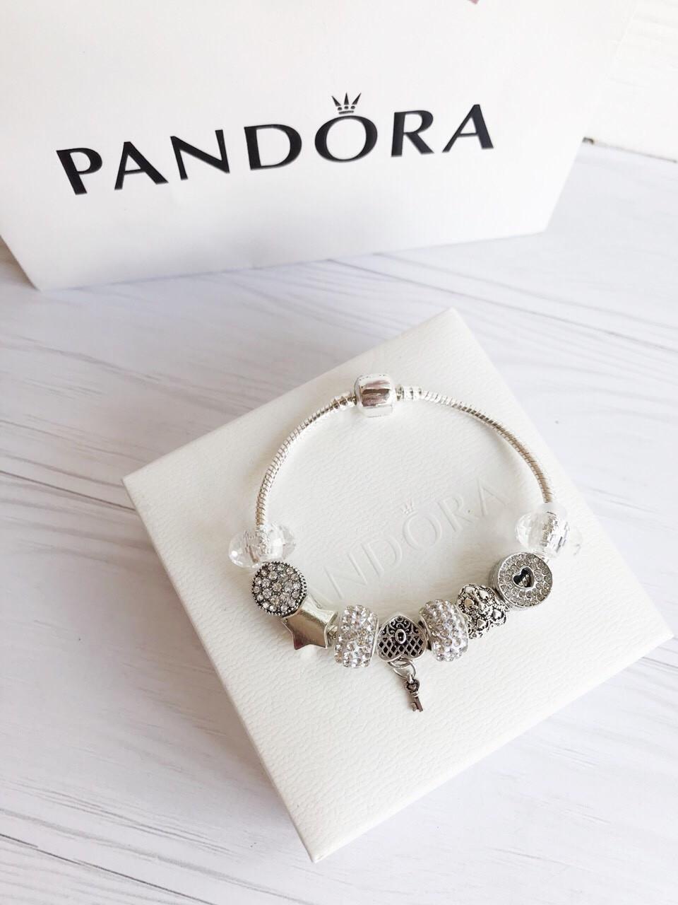 Браслет c шармами Pandora копия пандора Отличное качество опт дропшиппинг розница