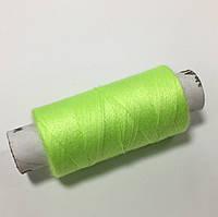 Нитки швейные 40/2 цв. 872 зеленый неон