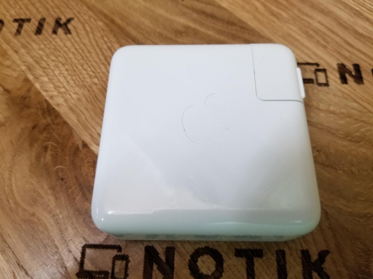 "Блок питания 61W Apple usb-c MacBook Pro 13"" (ОРИГИНАЛ) Б.У"