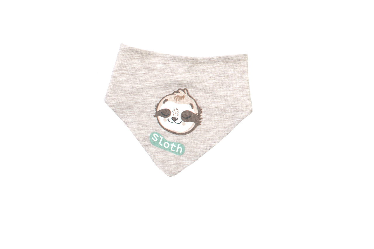 Нагрудник-бандана Baby Veres  Sloth yoga