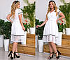 Модне жіноче плаття (5 кольорів) ТК/-4039 - Білий