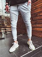 Мужские спортивные штаны серые U8