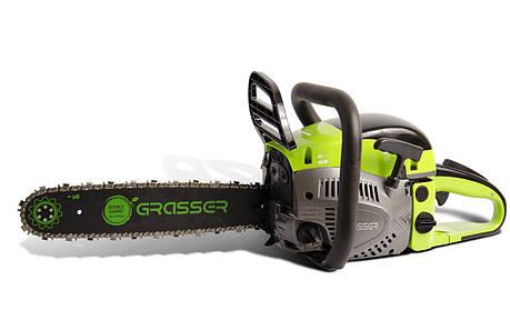 Пила бензиновая Grasser GGS 4300, бензопила, фото 2