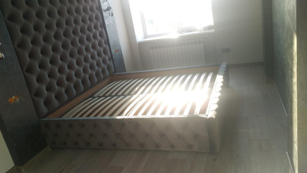 Двоспальне ліжко + стіна Ліберті 2