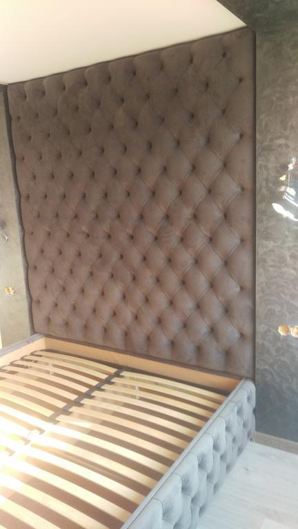 Двоспальне ліжко + стіна Ліберті 3