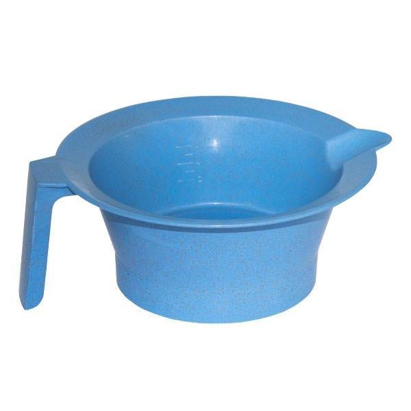 Чаша для покраски с делениями HairMaster, голубая (890647 BLU)
