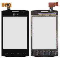 Сенсор (тачскрін) LG Optimus L1 2 E410 (original) Black
