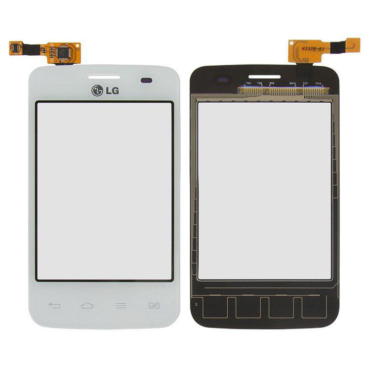 Сенсор (тачскрін) LG Optimus L3 E435 (original) White