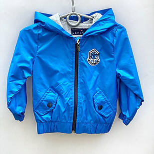Куртка - ветровка для мальчика, размеры 6 мес, 18 мес