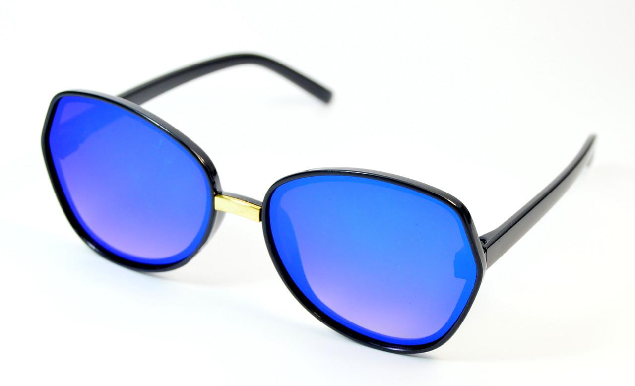 Очки солнцезащитные для девочек (0469 син)