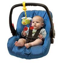 Игрушка-подвеска на прищепке - ЖУЖУ в ассорт. дрожащие бабочка или пчёлка Taf Toys 10555, фото 3