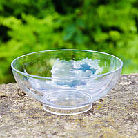 Креманки пластиковые круглые 6 шт/уп 65 мл прозрачные 7.5х2.5 см, Украина
