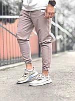 Мужские спортивные штаны бежевые g16