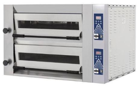 Піч для піци HENDI Sideup 44D - електромеханічне управління