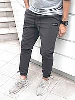 Мужские спортивные штаны темно-серые g15
