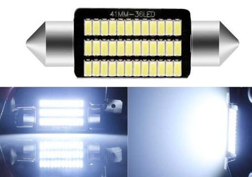 Светодиодная лампа 33 SMD (3014)-42 мм с обманкой