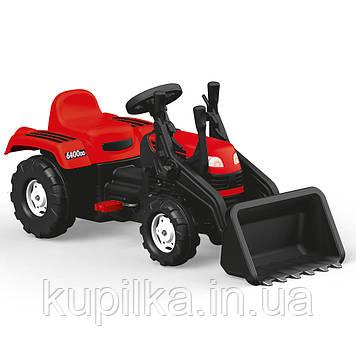 Трактор на педалях DOLU RANCHERO з ковшом (8047) червоний