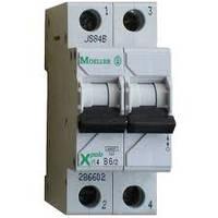 Автоматический выключатель Eaton (Moeller Electric) 2-полюсный PL4