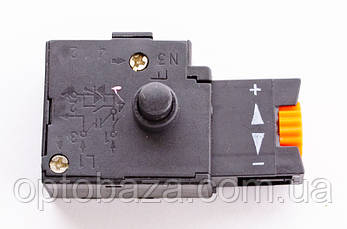 Кнопка с фиксатором для дрели (8 А), фото 2