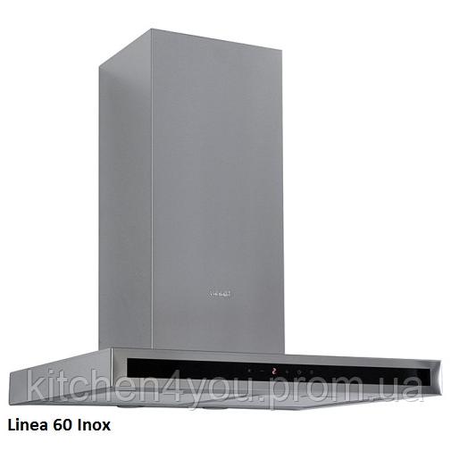 Fabiano Linea 60 inox декоративная кухонная вытяжка 60 см. нержавеющая сталь