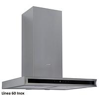 Fabiano Linea 60 inox декоративная кухонная вытяжка 60 см. нержавеющая сталь, фото 1