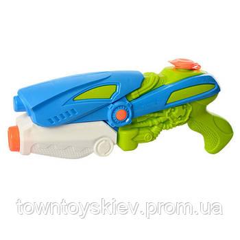 Детский водяной бластер M 3065 помповый (Синий)