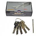 Цилиндр замка AGB Scudo 5000 PS ключ/ключ матовый хром 66 мм (33х33), фото 8
