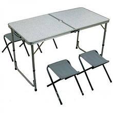 Меблі для пікніка D&T Smart DT-4251 набір стіл і 4 стільця