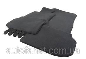 Оригинальный комплект черных велюровых ковриков салона для BMW X5 (E70) (51477290024)