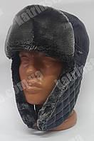 Зимняя мужская шапка-ушанка